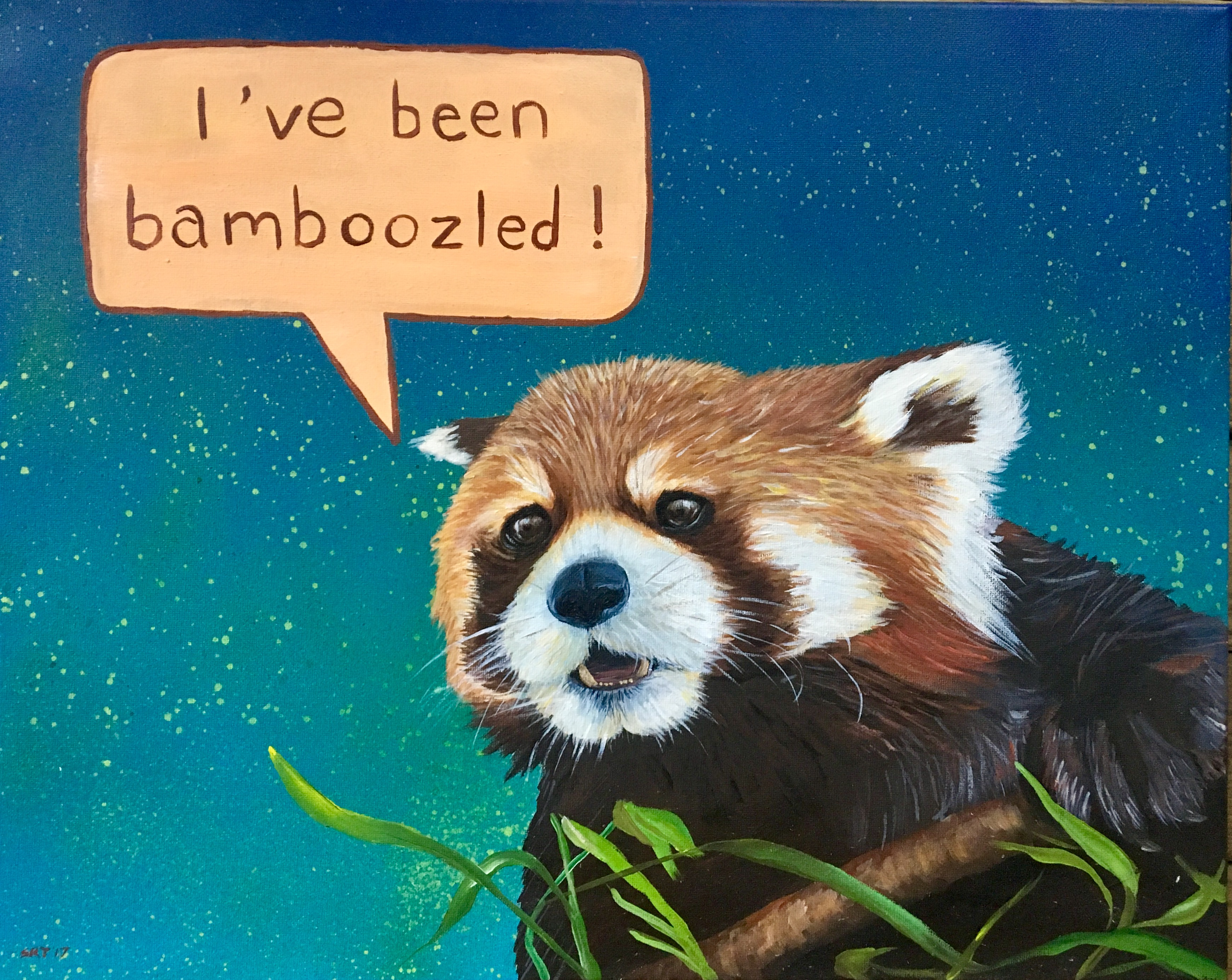 I've Been Bamboozled - Red Panda